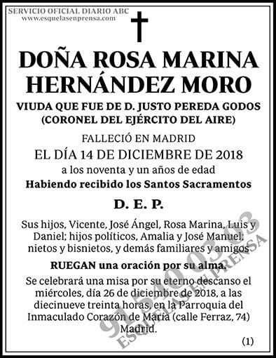 Rosa Marina Hernández Moro